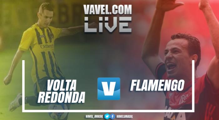 Resultado Volta Redonda x Flamengo (1-1)