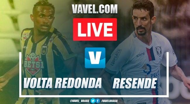 Volta Redonda x Resende AO VIVO hoje (0-0)