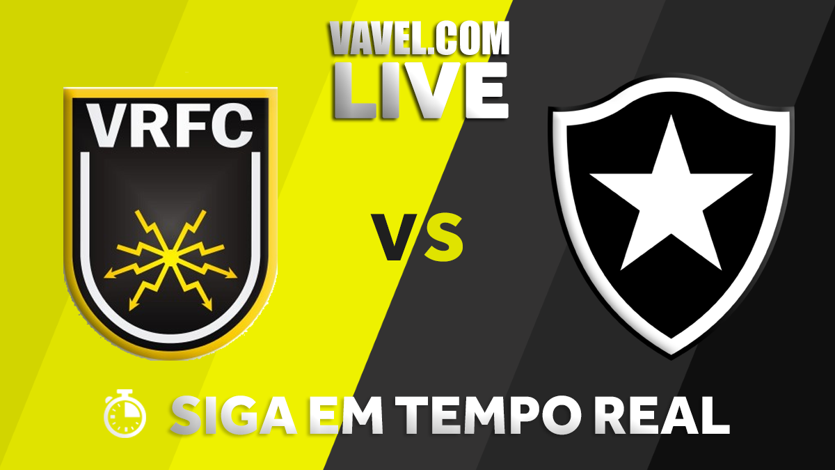 Resultado Volta Redonda x Botafogo pelo Campeonato Carioca 2018 (1-1)