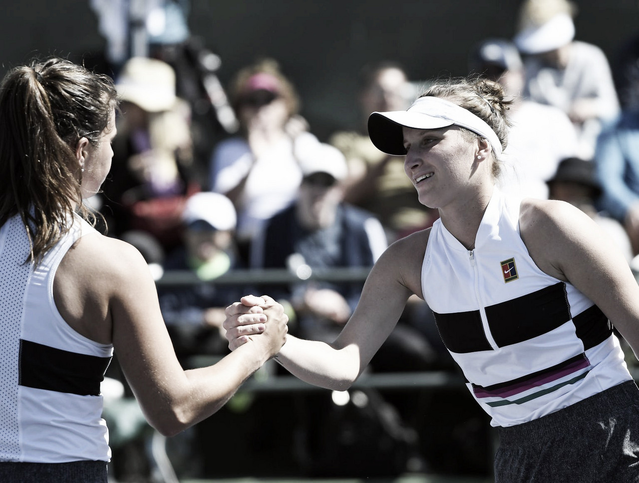 Atual vice-campeã, Kasatkina é presa fácil para Vondrousova e cai na estreia em Indian Wells