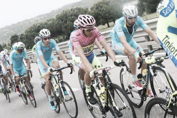 Giro d'Italia, ottava tappa: a Campitello Matese Contador prova a difendersi