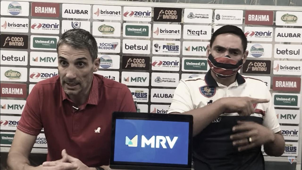Juan Vojvoda exalta desempenho coletivo do Fortaleza em empate no Clássico-Rei