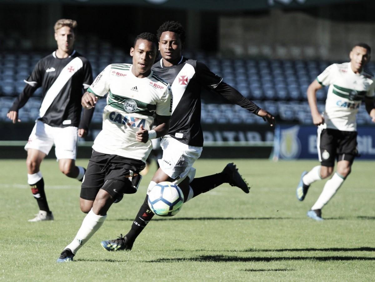Coritiba bate Vasco de virada no Couto Pereira pelo Campeonato Brasileiro sub-20
