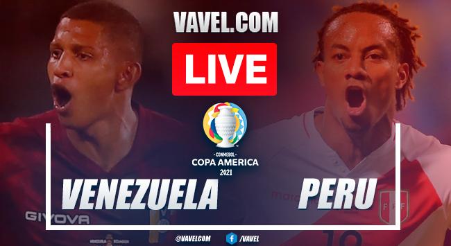 Resumen y gol: Venezuela 0-1 Perú en Fase de Grupos por la Copa América 2021