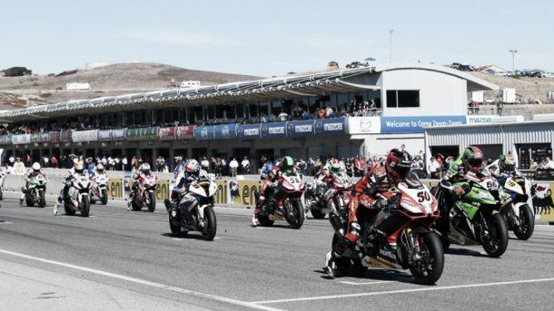 Primera carrera de Superbikes del GP de Holanda 2014