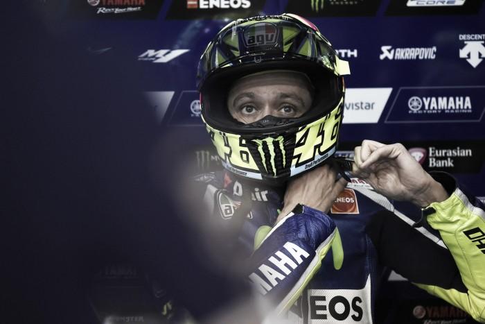 """Valentino Rossi: """"Será difícil repetir el resultado del año pasado"""""""