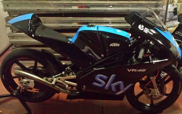 Team Sky-VR46, ecco le livree delle KTM di Fenati e Bagnaia