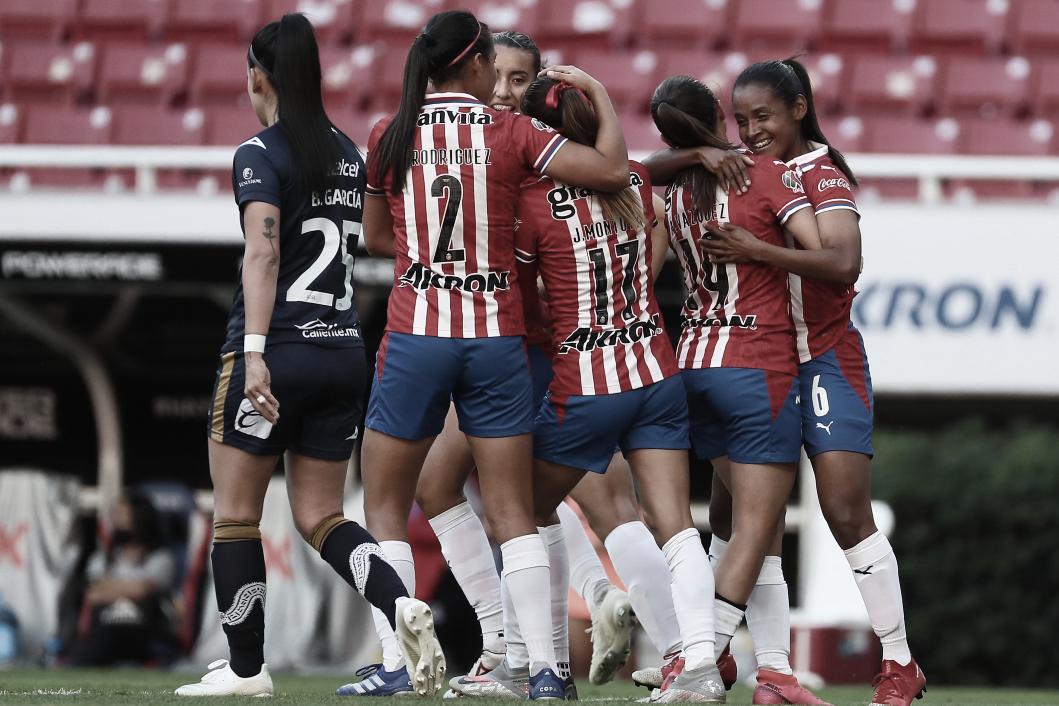 Chivas Femenil se reencuentra con la victoria ante San Luis