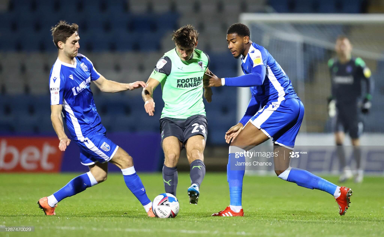 Gillingham saw off Wimbledon at Priestfield on Tuesday night | Photo by James Chance - GettyImages