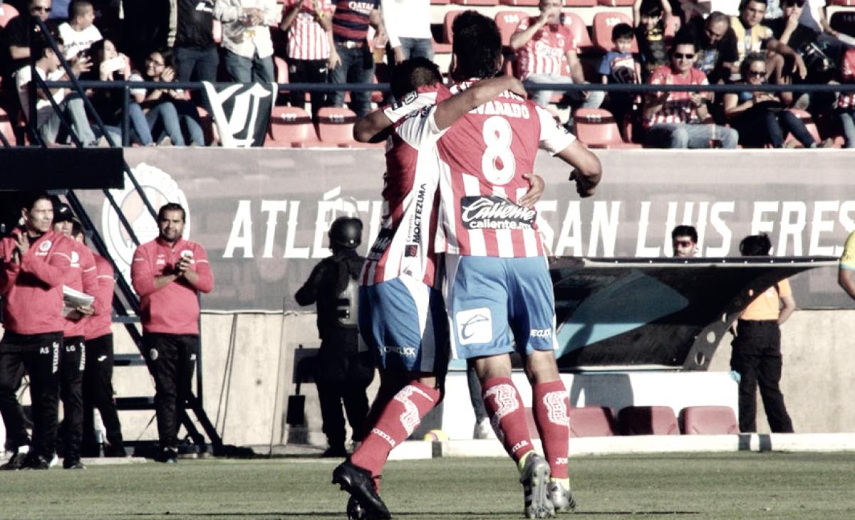 El Atlético de San Luis derrotó a los Pumas en su presentación