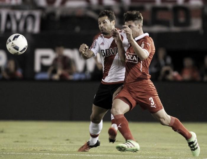 """Puntajes del """"Rojo"""" en la derrota ante River (0-1)"""