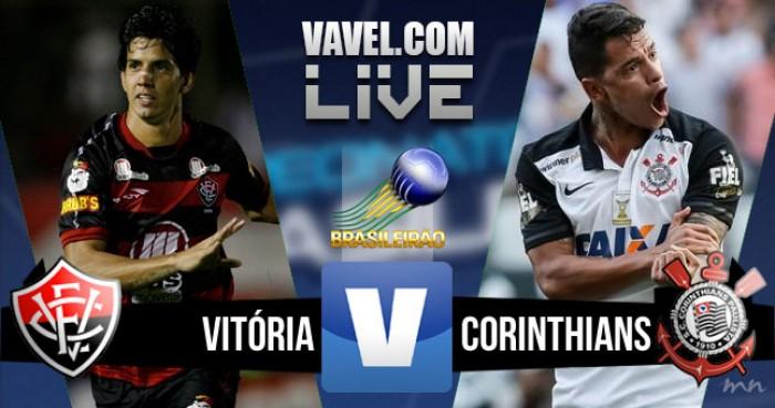 Resultado Vitória x Corinthians no Campeonato Brasileiro hoje (3-2)