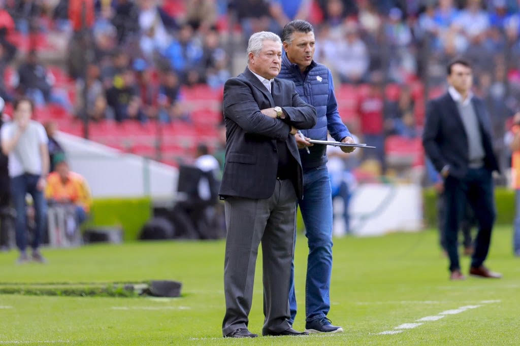 """Víctor Manuel Vucetich: """"Considero que el equipo ha hecho un buen partido"""""""