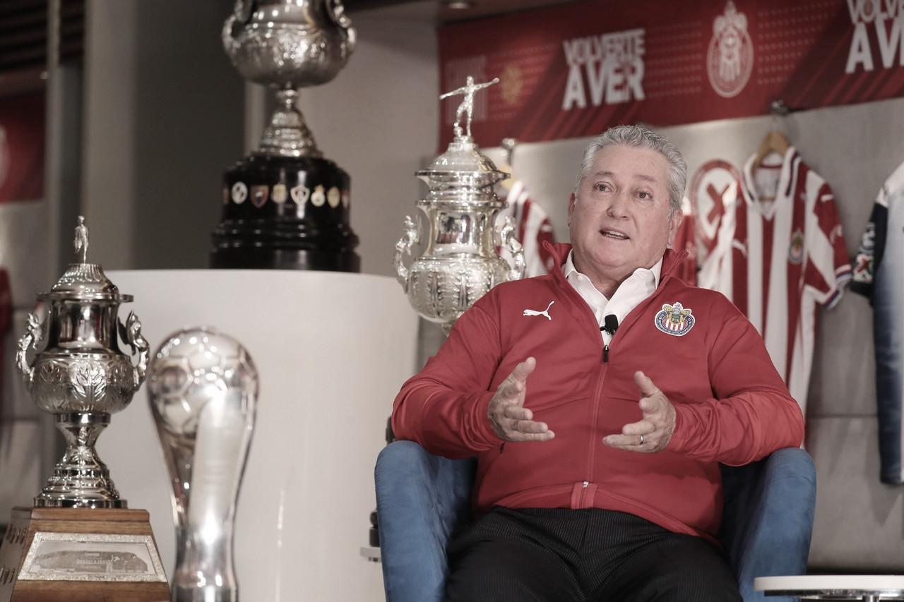 """Víctor Manuel Vucetich: """"Chivas tendrá un sello agresivo"""""""