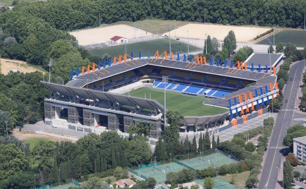 Montpellier : Le stade de la Mosson encore inondé