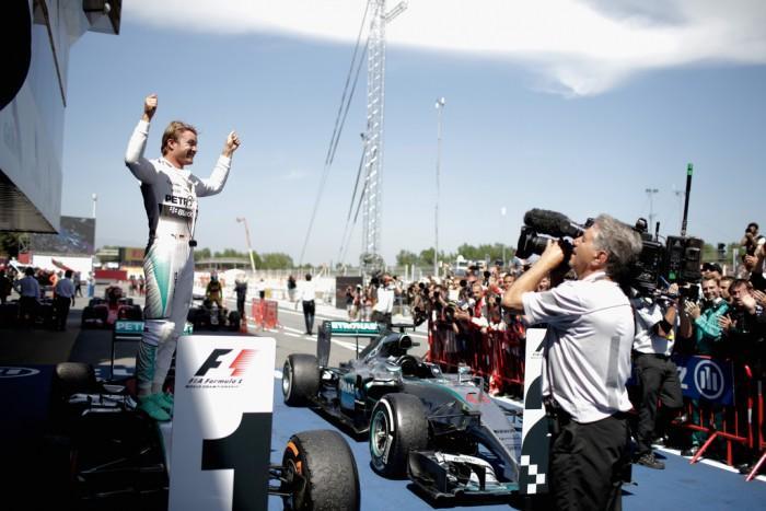 Vuelta al 2015. GP de España: Nico Rosberg ya está aquí