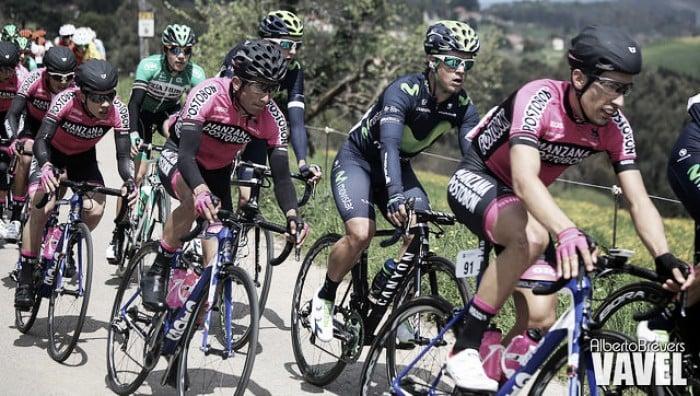 Fotos e imágenes de la primera etapa de la Vuelta a Asturias 2016