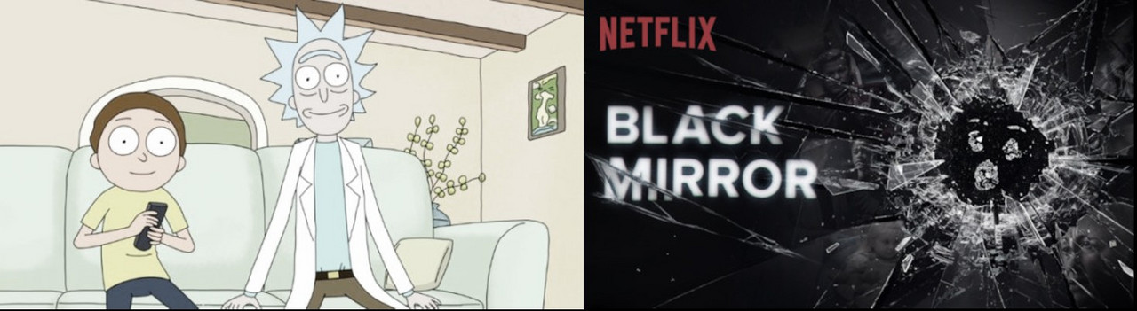 Se confirma regreso de Black Mirror y Rick y Morty para este año