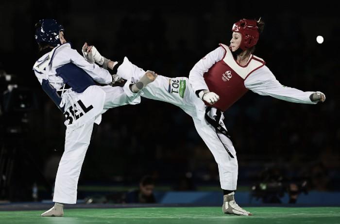 Eliminação brasileira marca primeira rodada do segundo dia do Taekwondo