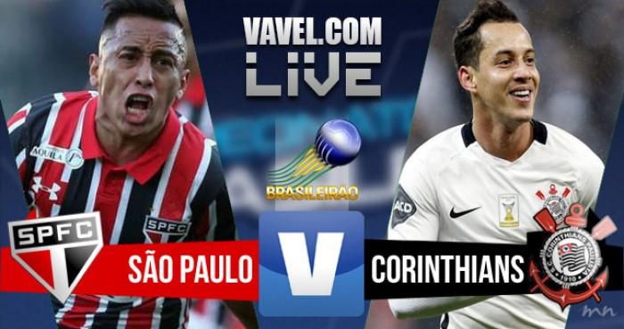 Resultado São Paulo x Corinthians no Brasileirão 2016 (4-0)