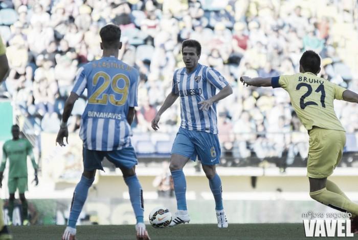 La última visita en El Madrigal acabó con derrota del Málaga CF