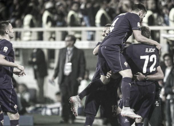 Fiorentina, stesa anche l'Atalanta: 3-0 e primato solitario