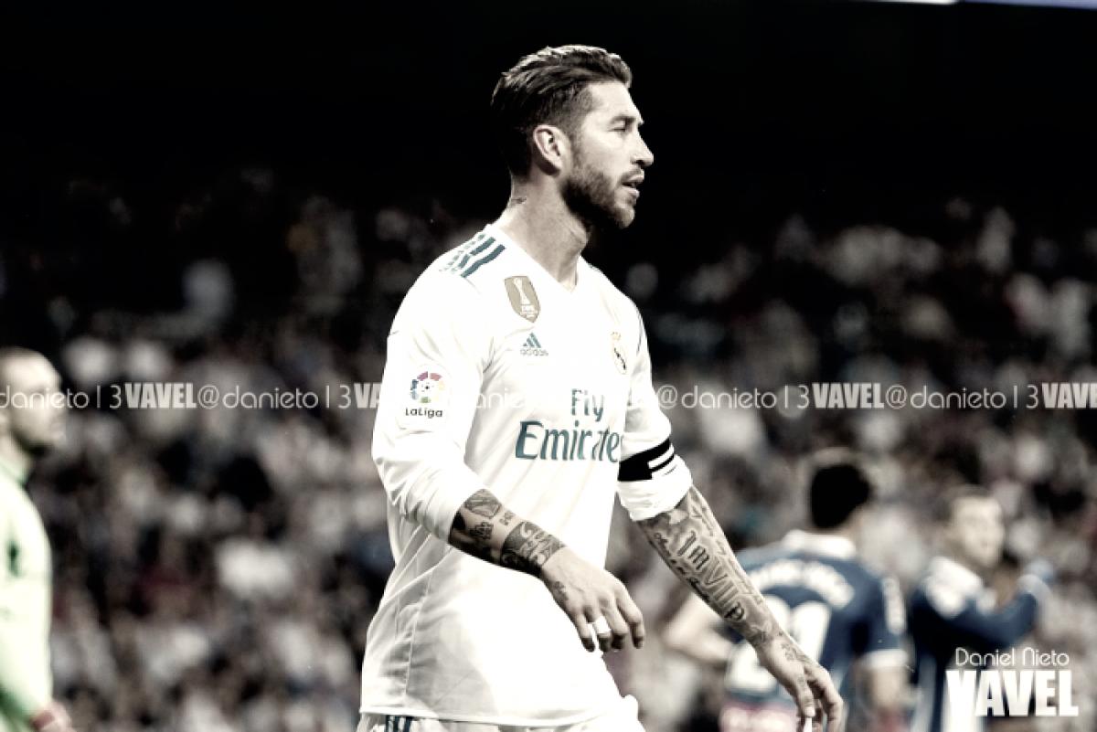 Sergio Ramos se perderá el partido de vuelta frente al Ajax