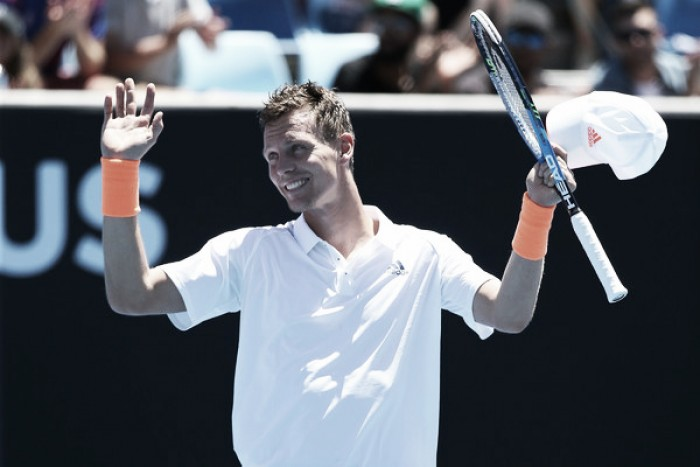 Tomas Berdych aiming to show a brighter side of himself in 2017