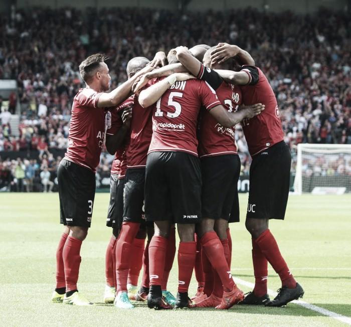 Guingamp domina Olympique e alcança a primeira vitória na Ligue 1