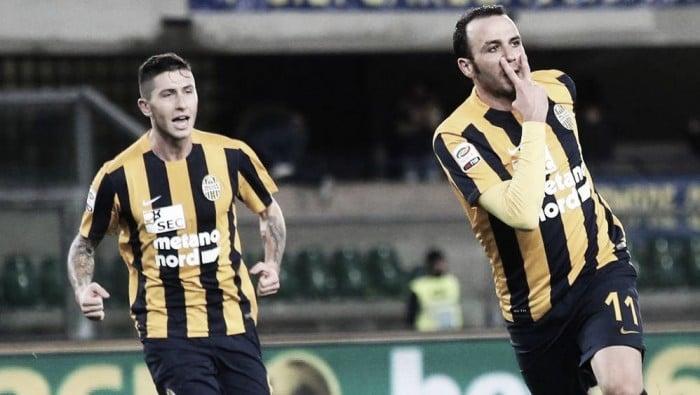 Serie B - L'Hellas Verona risale: 0-2 contro il Trapani