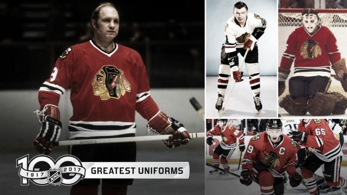 Los Chicago Blackhawks, poseedores del mejor uniforme de la NHL