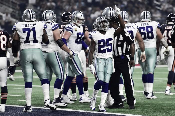 Cowboys mostra eficiência no jogo corrido e bate Bears em casa no Sunday Night Football