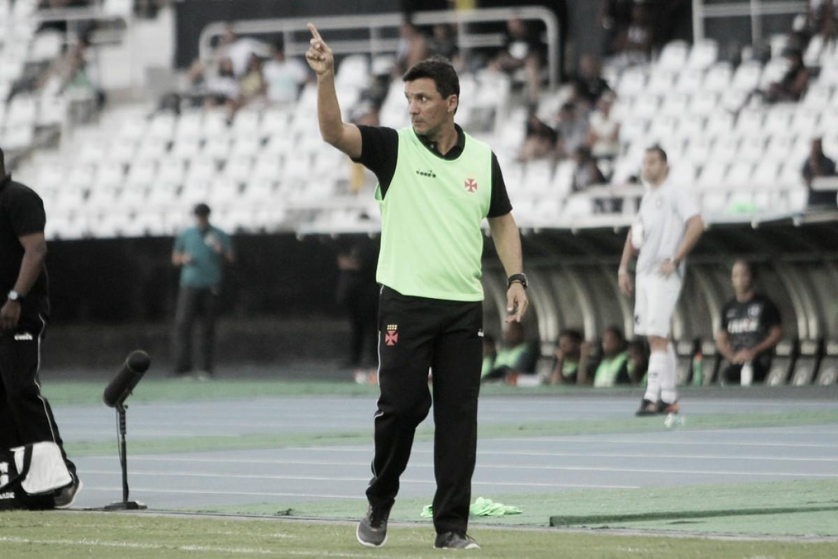 Zé Ricardo exalta vitória do Vasco em clássico e projeta mesmo duelo nas semifinais da Taça Rio