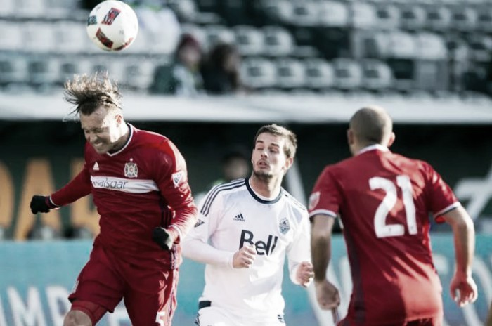 Vancouver Whitecaps host Chicago Fire with both teams looking for consistency