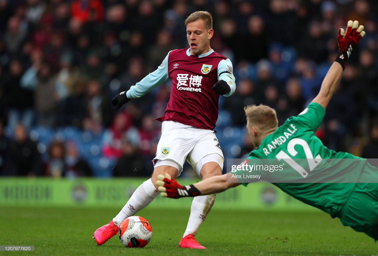 Burnley in comfortable position ahead of season break
