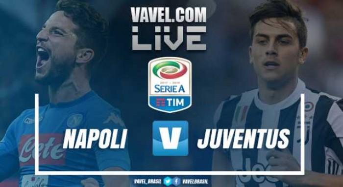 Resultado Napoli x Juventus pelo Campeonato Italiano (0-1)