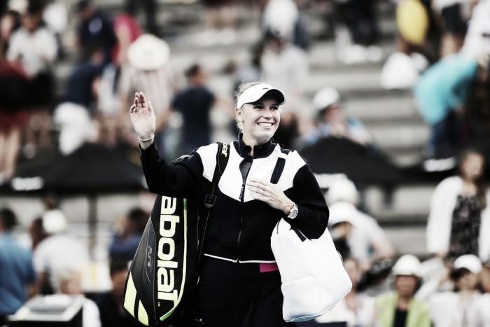 Wozniacki y Goerges se citan en la final de Auckland