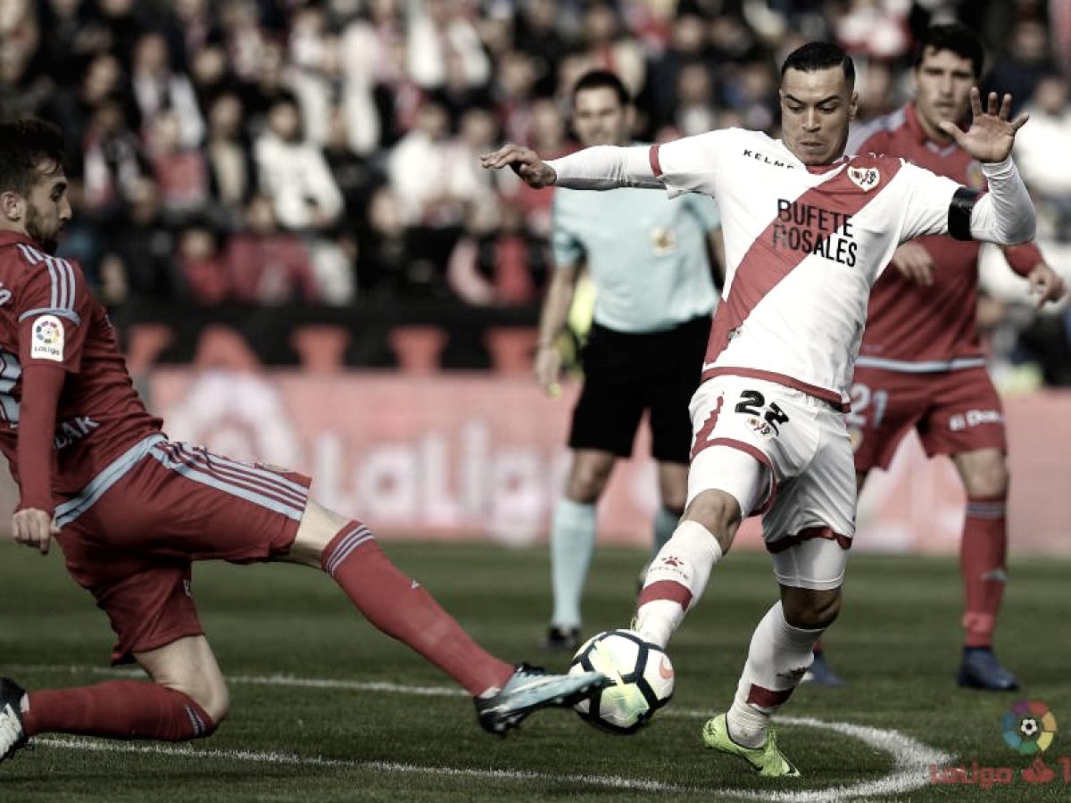 El Real Zaragoza cae con claridad en Vallecas