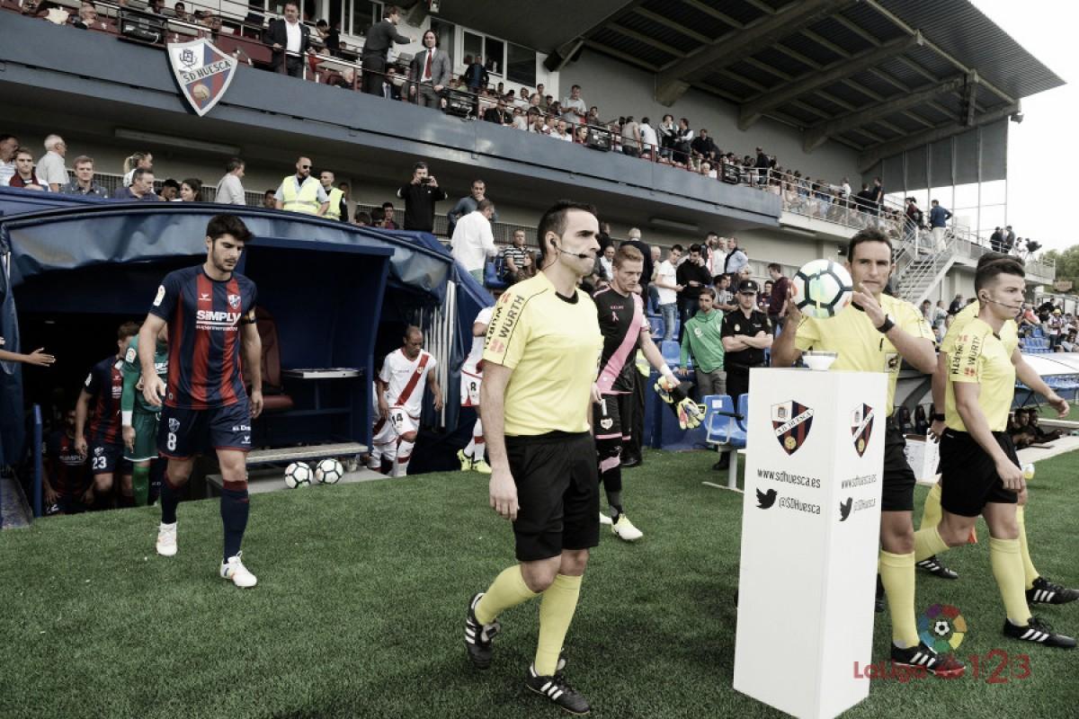 Horarios jornada 4: Huesca-Rayo Vallecano, 21:00 horas