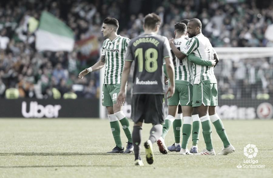 Real Sociedad - Betis, domingo 20 de octubre a las 14:00 horas