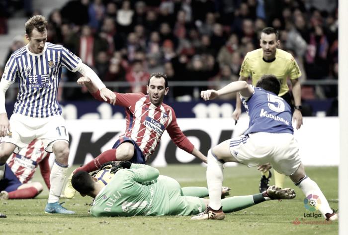 Atlético de Madrid vs Real Sociedad: puntuaciones de la Real Sociedad, jornada 14 de LaLiga Santander