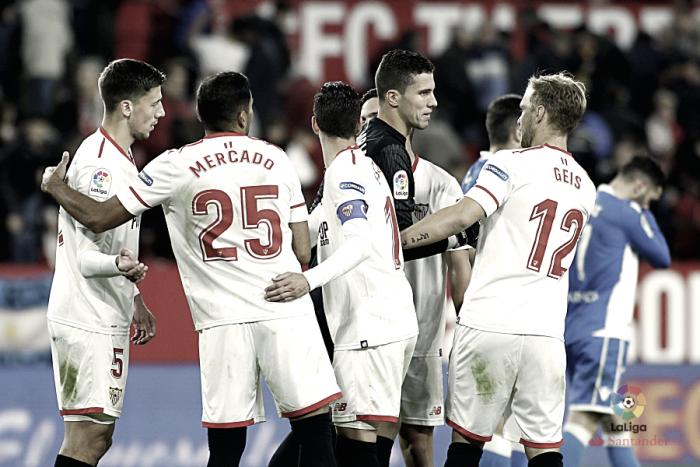 Sevilla FC - Deportivo de La Coruña: puntuaciones del Sevilla, jornada 14 de LaLiga Santander