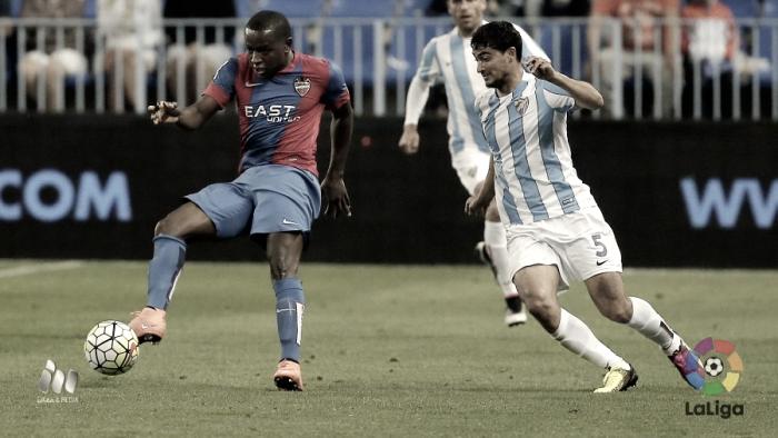 Resumen Málaga CF 0-0 Levante UD en La Liga 2017