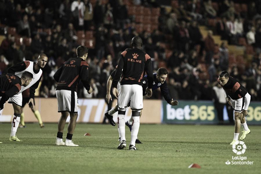 El Rayo se une antes de recibir al Villarreal