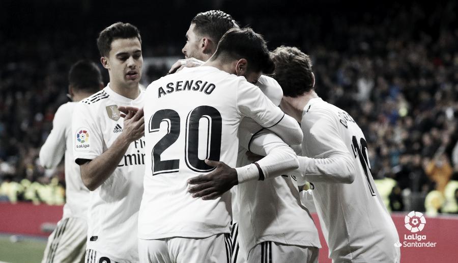 El Real Madrid encadena cinco victorias consecutivas