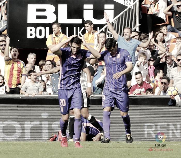 Cero puntos en Valencia