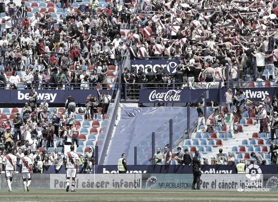 El Rayo regresa a Segunda División