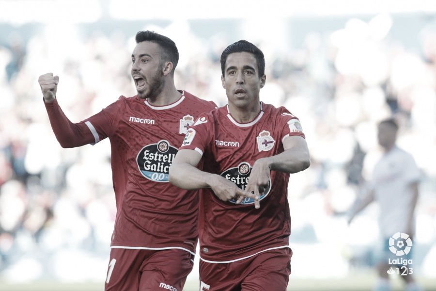 El Real Zaragoza cae derrotado ante un serio y efectivo Deportivo