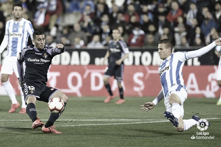 Resumen del CD Leganés 1-0 Real Valladolid en LaLiga 2019