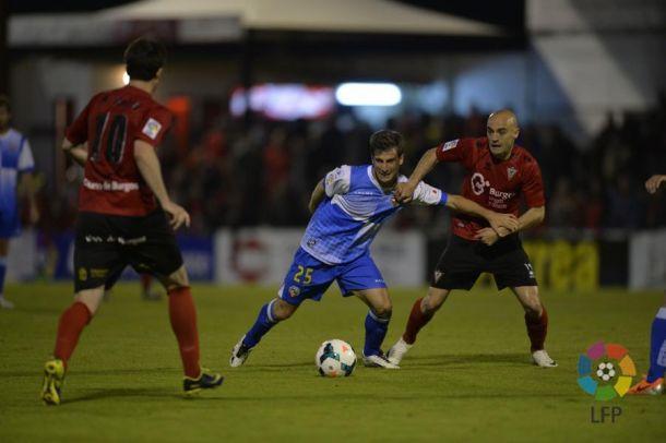 Mirandés y Sabadell no pasan del empate